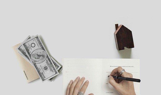podpis půjčky na dům