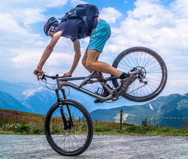 cviky na kole