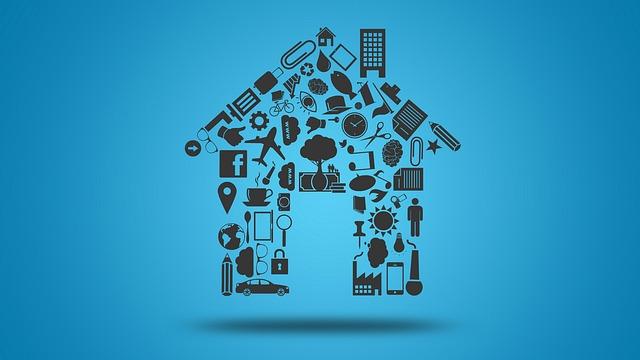 složený domek