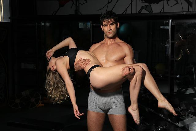 sexy pár