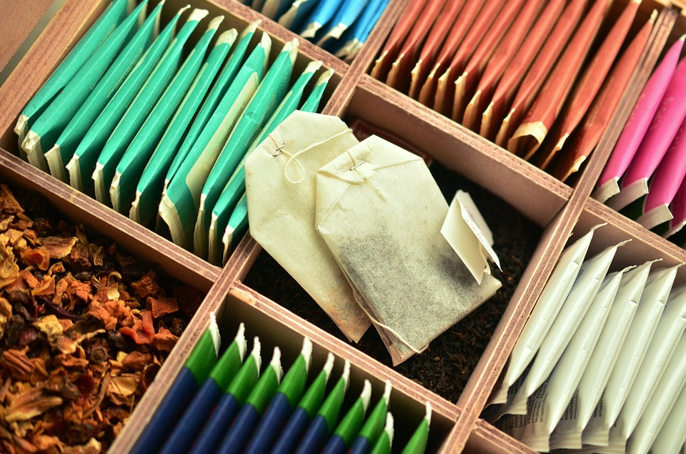 krabička s čaji